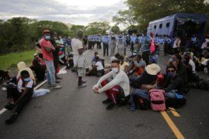 Se forma nueva caravana de migrantes en Centroamérica