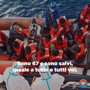 La Mare Jonio salva 67 naufraghi. Assieme ai 211 di Sea-Watch 3 devono sbarcare in Europa