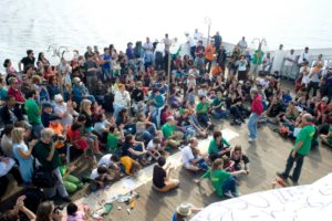 June 26-27, 2010, the Landing, the Ship of Rights, From Barcelona to Genoa.