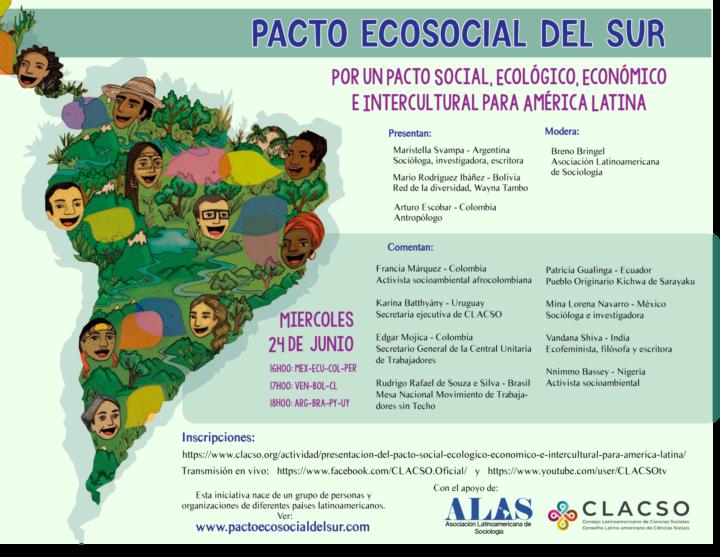 Presentazione del patto eco sociale del sud per l'America Latina