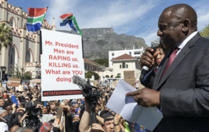 South African Leader Condemns Latest Surge of Violence Against Women