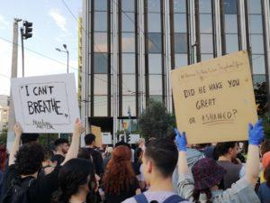 Atene: non c'è pace senza giustizia