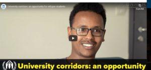 Università italiane offrono corridoi universitari a studenti rifugiati