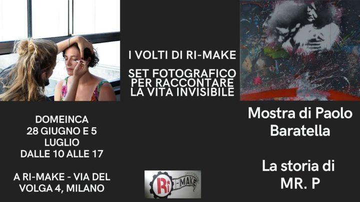 I Volti Di Rimake + Mostra di Paolo Baratella