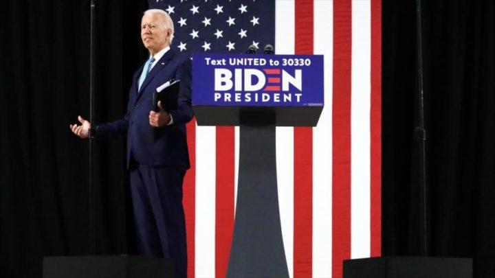 Sondeo: Biden aventaja en 15 puntos a Trump en intención de votos