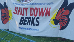 Shut Down Berks Coalition:  We Demand Freedom for Detained Black and Brown Immigrant Families