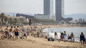 Coronavirus: Germany puts Spain's Catalonia, Navarre and Aragon on high-risk list