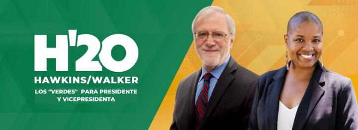 USA: Howie Hawkins y Angela Walker, confirmados como candidatos presidenciales del Partido Verde