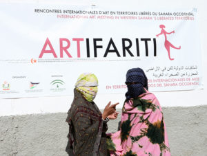 ARTifariti: Encuentros Internacionales de Arte y Derechos Humanos en el Sáhara Occidental