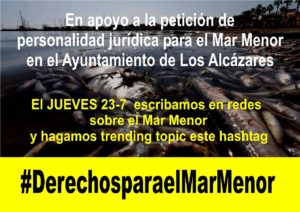 España: Manifestación Internacional de Apoyo a los Derechos del Mar Menor