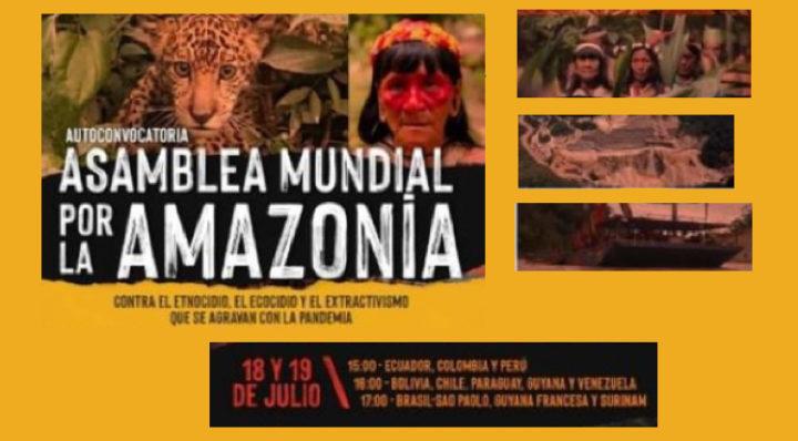 Auto-convocazione della Prima Assemblea mondiale per l'Amazzonia