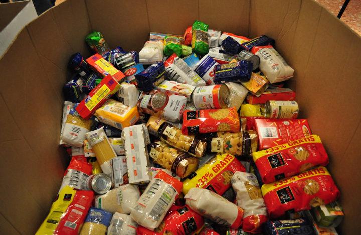 Augmenten les xarxes solidàries de repartiment d'aliments
