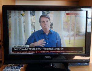 Bolsonaro positivo