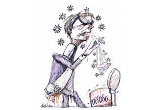 """Sem partido, sem empatia e sem nenhum respeito ao povo, Bolsonaro ganha na Justiça o """"direito"""" de não usar máscara"""