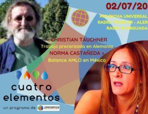 Cuatro Elementos del 02/07/2020 México a dos años de la Victoria del Pueblo y Alemania expuesta