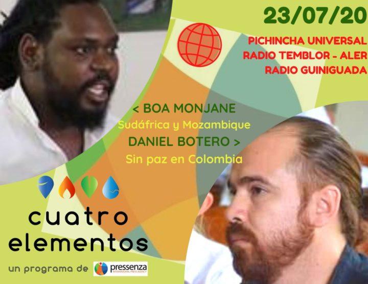Cuatro Elementos del 23/07/2020 Colombia y Sudáfrica