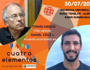 Cuatro Elementos del 30/07/2020 Chile y el acuerdo económico en la Unión Europea