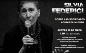 Silvia Federici: Wir brauchen einen gesellschaftlichen Wandel