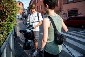 Via col Vento? Pomeriggio di pulizia urbana a Bologna