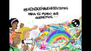 ¡Queremos una educación libre y sin exclusión en América Latina!