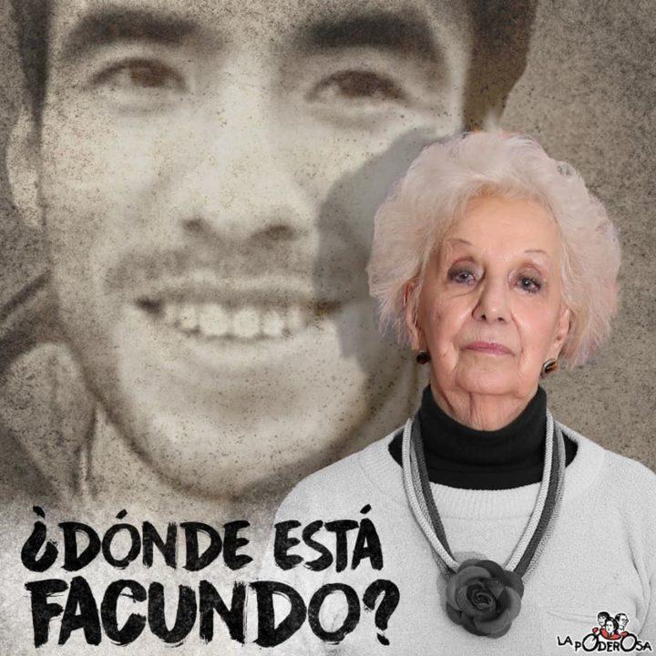 Estela de Carlotto: «Facundo es un desaparecido en democracia»