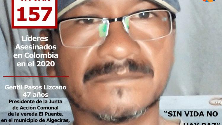 Asesinato de Líderes Sociales en Colombia