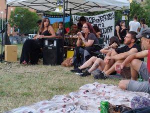 La solidaritat de Bolonya amb els maputxes
