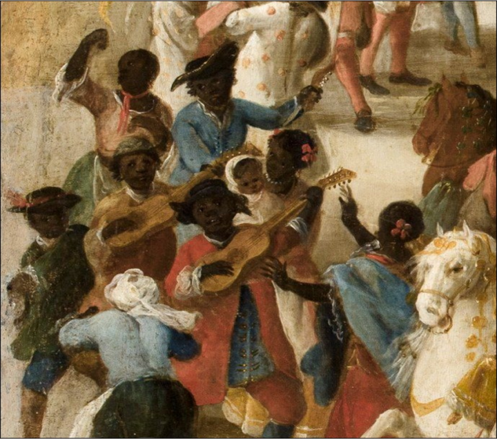 Domingo Martínez. Carro del Aire. Detalle. 1747. Sevilla, Museo de bellas Artes.