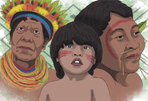 La crisis humanitaria de los indígenas en Colombia