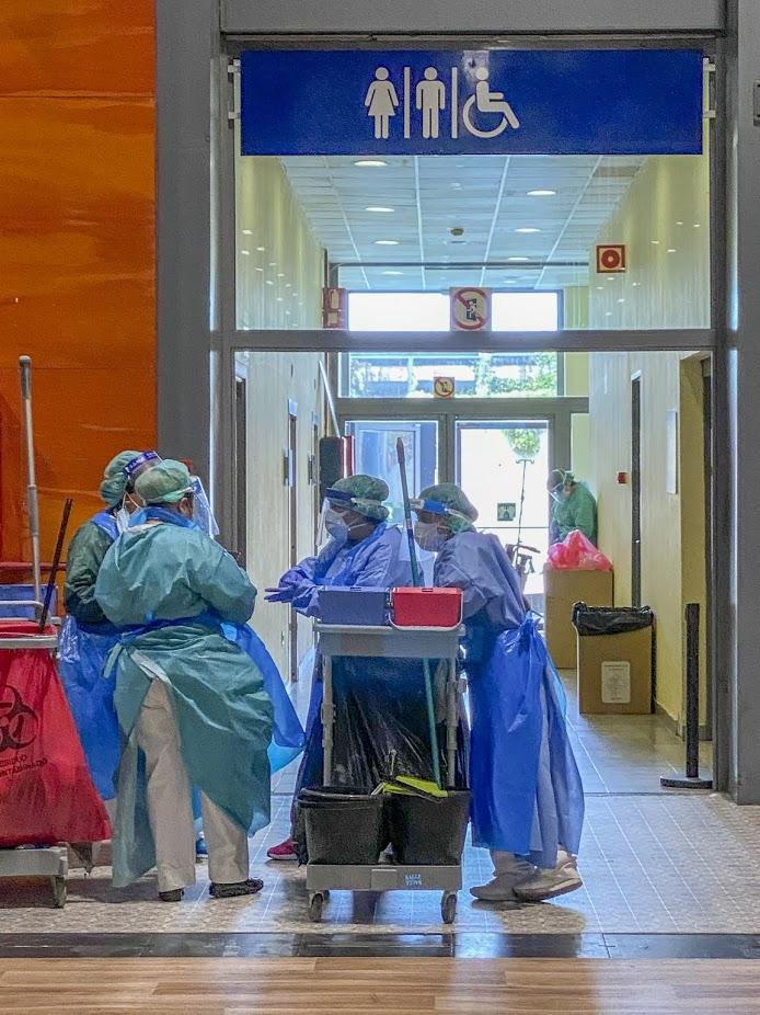 Humanización, pandemia y cuidados paliativos. Enfrentando nuestros miedos. Rol de los profesionales de la salud