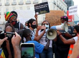 Manifestación Regularización Ya migrantes_Madrid 19072020