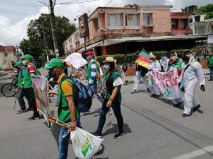 Avanza la Marcha por la Dignidad en Colombia