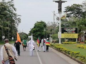 Marcha por la Dignidad, cerca de su destino