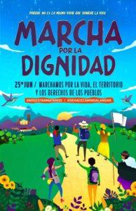 Marcha por la Dignidad en Colombia