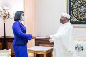Por primera vez, una mujer al frente de Gabón