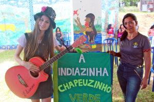 Direitos indígenas com literatura e música