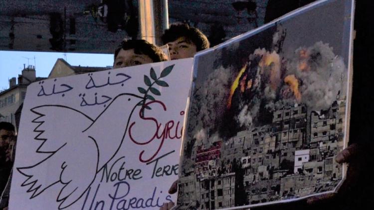 """Die """"Syrien-Hilfe"""" und Maas, der Schein-Heilige: Die Tagesschau verschweigt die Verbrechen der westlichen """"Koalition"""" im Nahen Osten"""