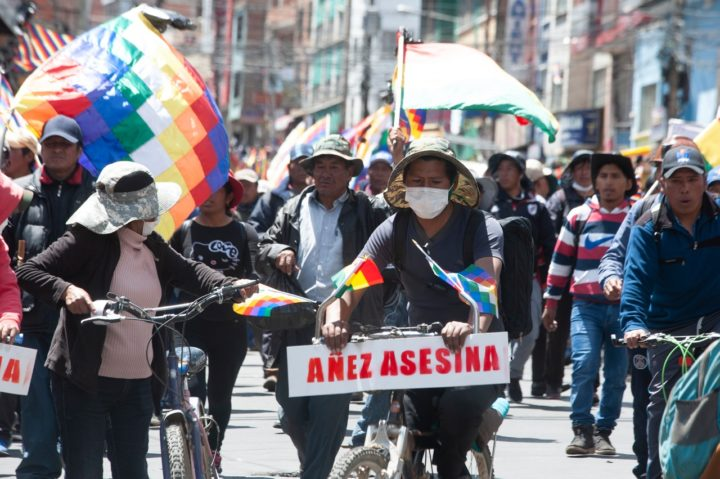 Bolivia: They try to Stop Evo and Ban the M.A.S. Before Imminent Electoral Victory