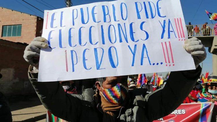 La Bolivie exige des élections par le biais d'une mobilisation de masse et d'une grève illimitée
