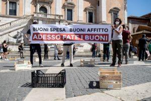 Roma: dove sono i buoni spesa?