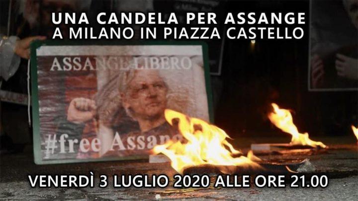 Una candela per Assange