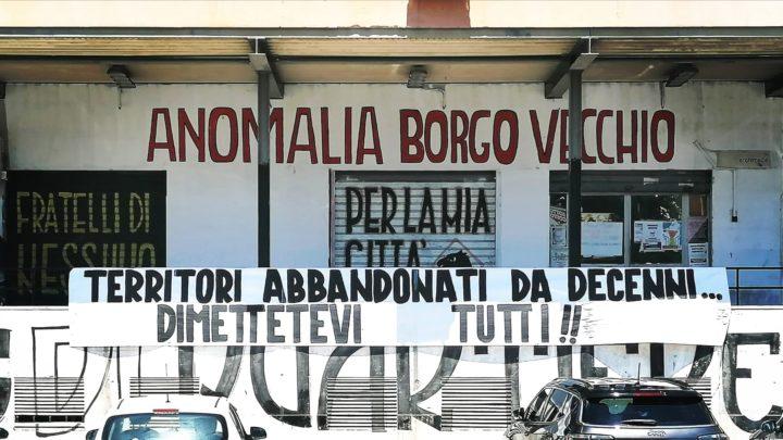 Bomba d'acqua a Palermo