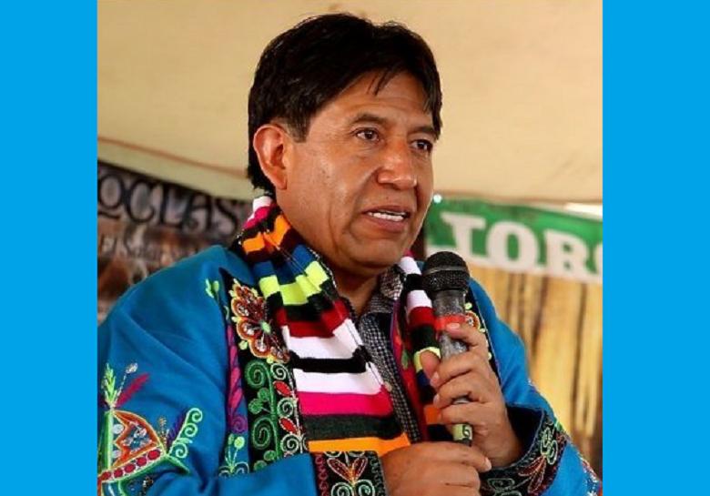 """David Choquehuanca en Radio Gráfica: """"El pueblo boliviano ha perdido el  miedo"""""""