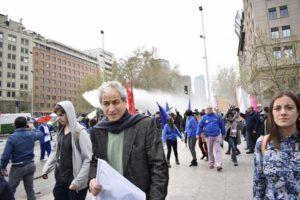 Mario Aguilar: «Estamos muy lejos de las condiciones que permitan regresar a clases»