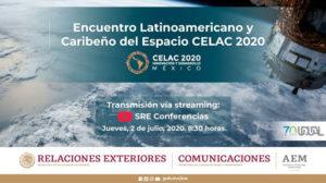 CELAC: Por el uso y exploración del espacio ultraterrestre con fines pacíficos