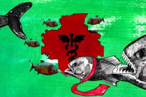 """La salud pública en Honduras, desdibujada y desmantelada en el gobierno de """"la vida mejor"""""""