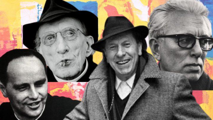 Don Gallo, Padre Turoldo, Don Milani, Fortini: in ricordo di quattro giganti