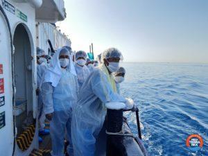 I 43 naufraghi salvati da Mediterranea sono sbarcati questa mattina ad Augusta