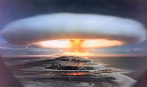 Mururoa: 54th anniversary of first nuclear bomb detonation