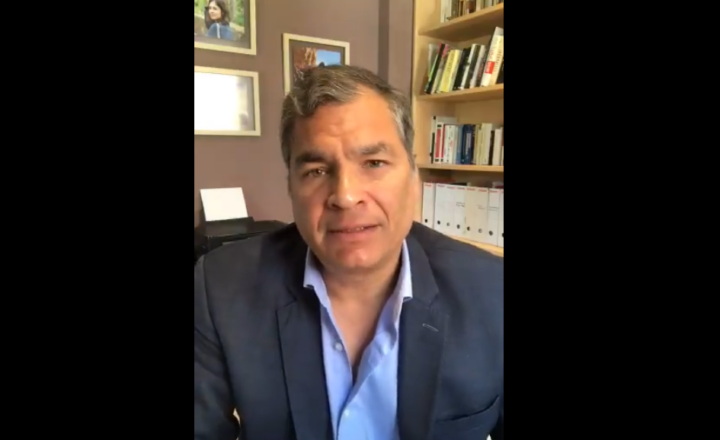 Ecuador: obstacles for Rafael Correa and his party to participate in next year's elections